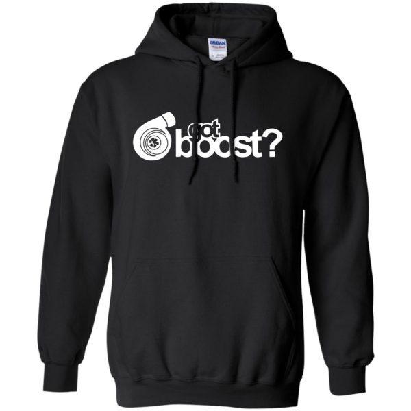 got boost hoodie - black