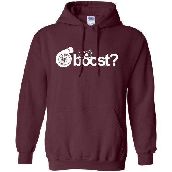 got boost hoodie - maroon