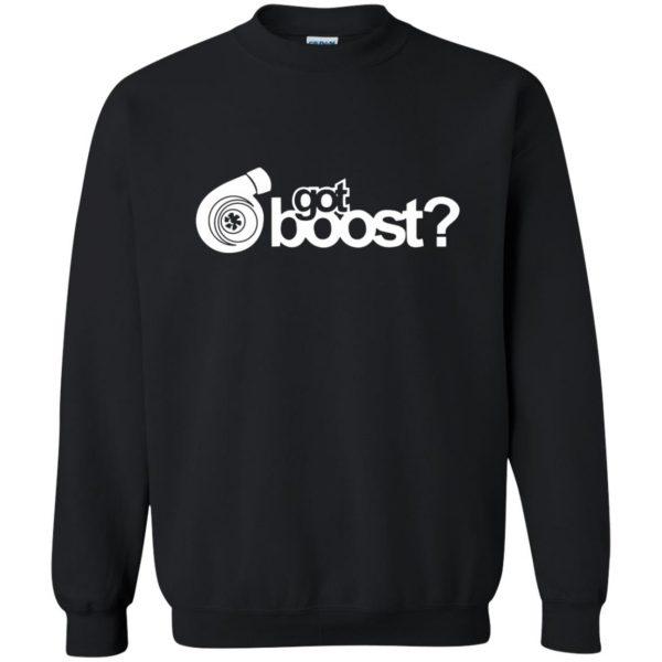 got boost sweatshirt - black