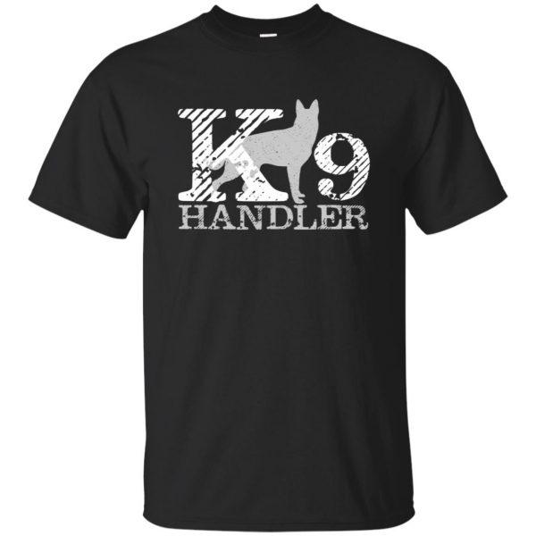 k9 handler shirt - black