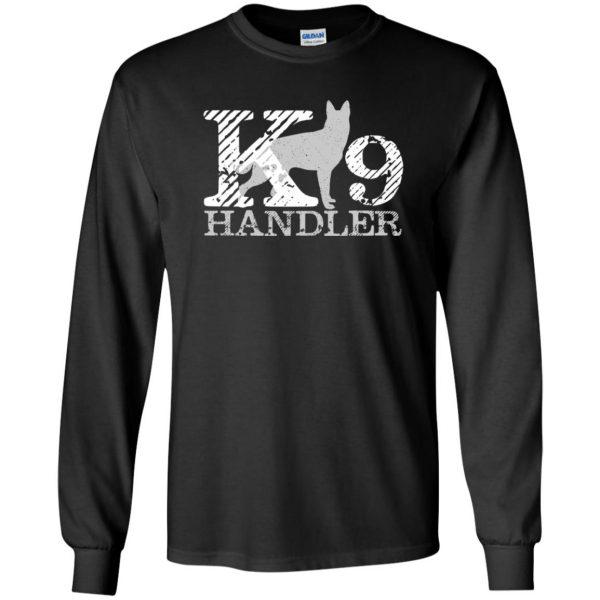 k9 handler long sleeve - black