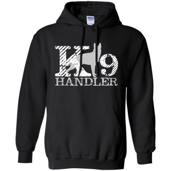 k9 handler hoodie - black