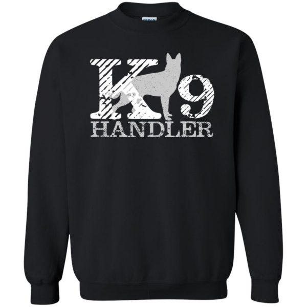 k9 handler sweatshirt - black