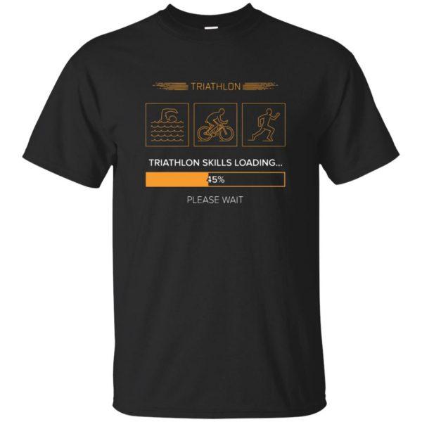 triathlon skills loading - black