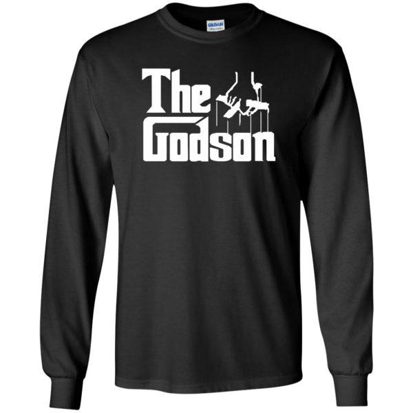 godson shirt long sleeve - black