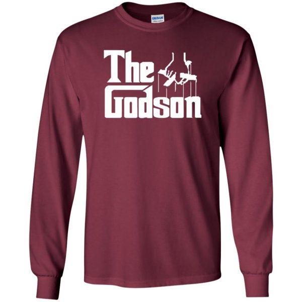 godson shirt long sleeve - maroon