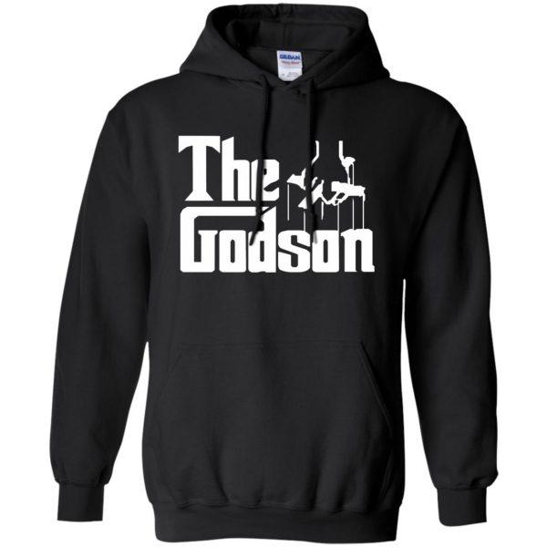 godson shirt hoodie - black
