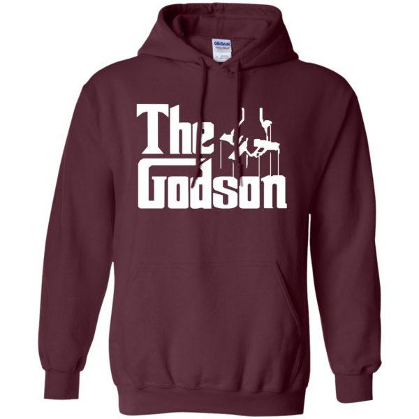 godson shirt hoodie - maroon