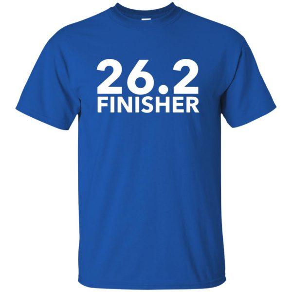 26.2 Finisher t shirt - royal blue
