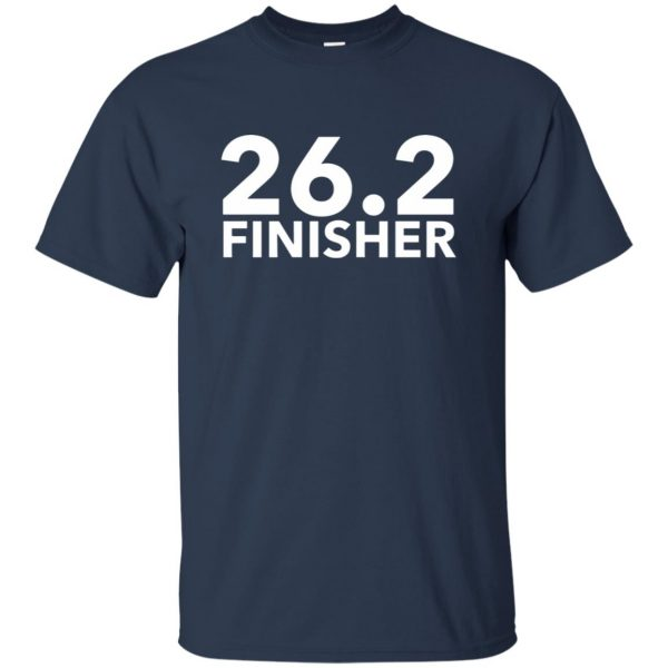 26.2 Finisher t shirt - navy blue