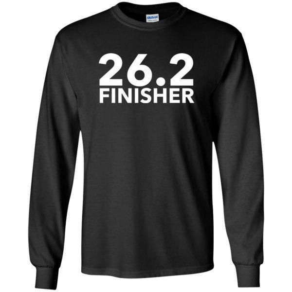 26.2 Finisher long sleeve - black
