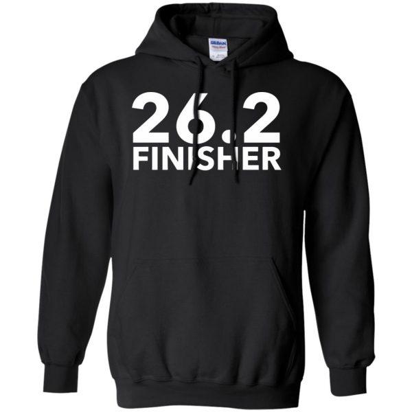 26.2 Finisher hoodie - black