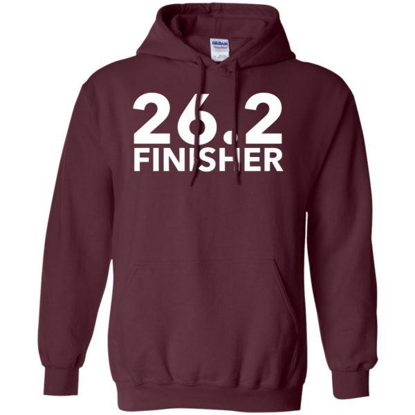 26.2 Finisher hoodie - maroon