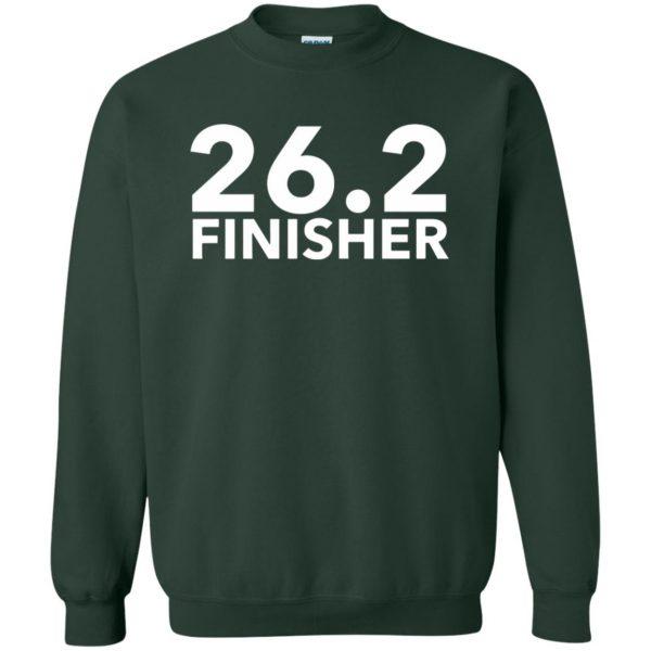 26.2 Finisher sweatshirt - forest green