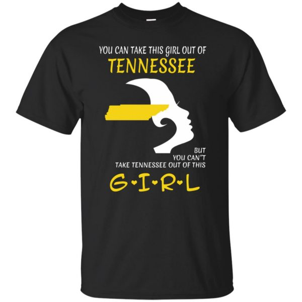 tennessee girl shirt - black