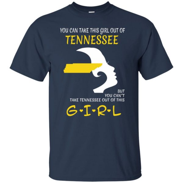 tennessee girl t shirt - navy blue