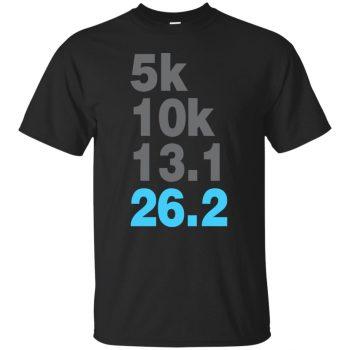5k 10k 13.1 26.2 Marathoner - black