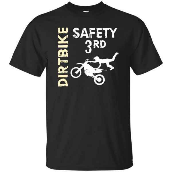 safety 3rd t shirt - black