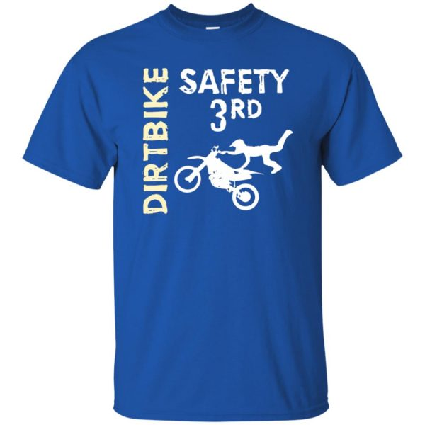 safety 3rd t shirt t shirt - royal blue
