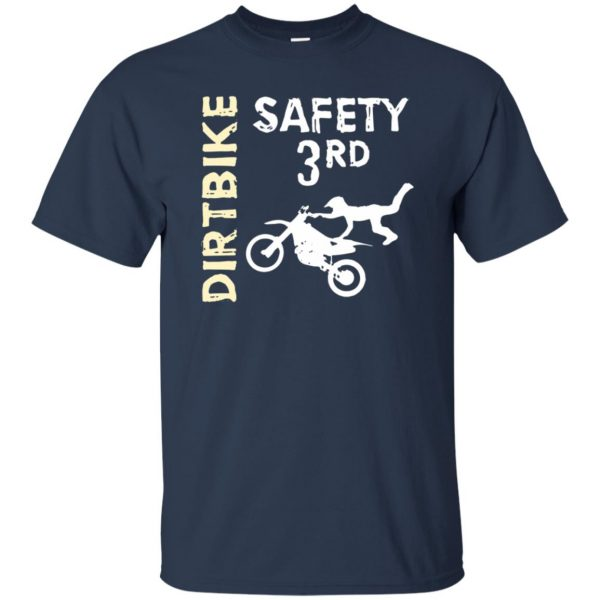 safety 3rd t shirt - navy blue