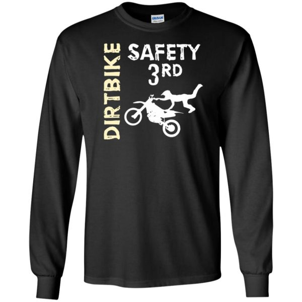 safety 3rd t shirt long sleeve - black