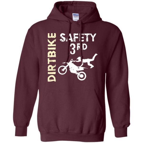 safety 3rd hoodie - maroon