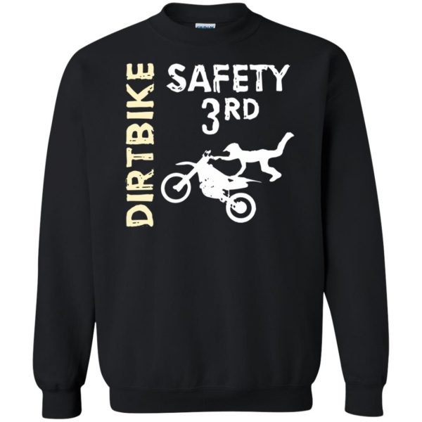 safety 3rd t shirt sweatshirt - black