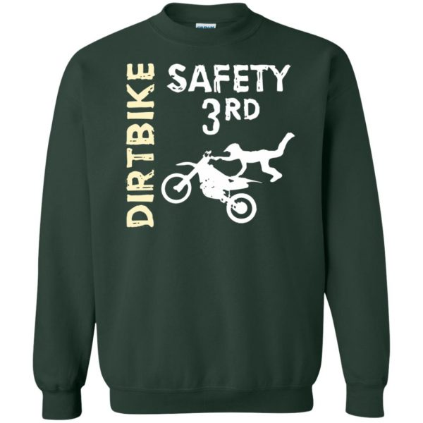 safety 3rd t shirt sweatshirt - forest green