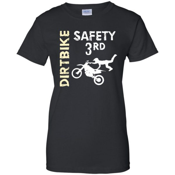 safety 3rd womens t shirt - lady t shirt - black