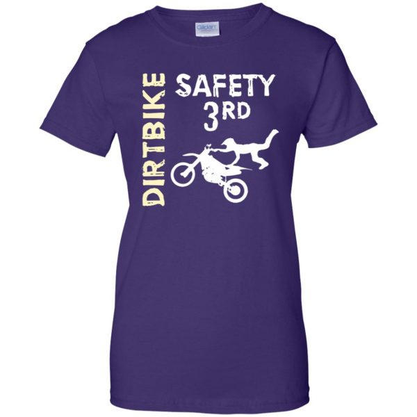 safety 3rd womens t shirt - lady t shirt - purple