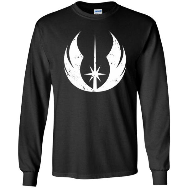 jedi order shirt long sleeve - black