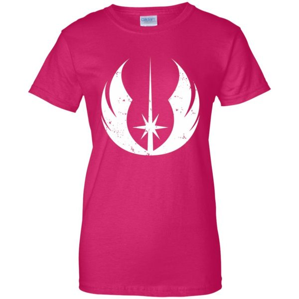 jedi order shirt womens t shirt - lady t shirt - pink heliconia