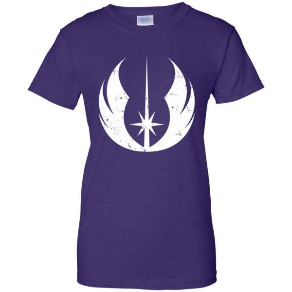 jedi order shirt womens t shirt - lady t shirt - purple