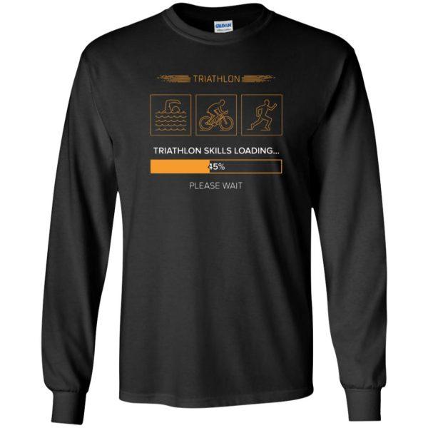 triathlon skills loading long sleeve - black