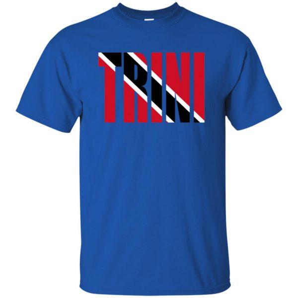 trinidad t shirt - royal blue