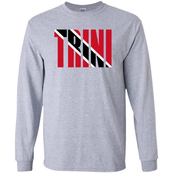 trinidad long sleeve - sport grey