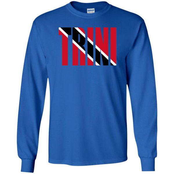 trinidad long sleeve - royal blue