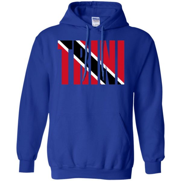 trinidad hoodie - royal blue
