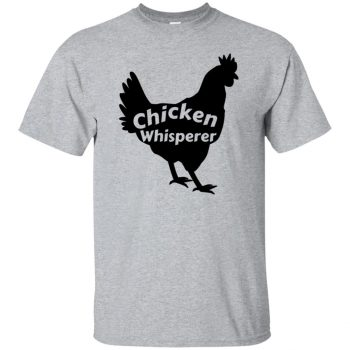 chicken whisperer shirt - sport grey