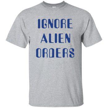 ignore alien orders - sport grey