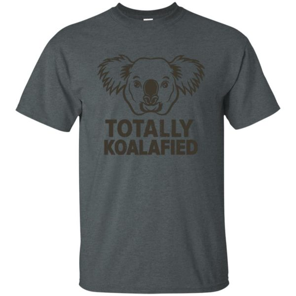 koalafied shirt t shirt - dark heather
