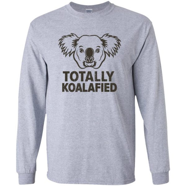 koalafied shirt long sleeve - sport grey