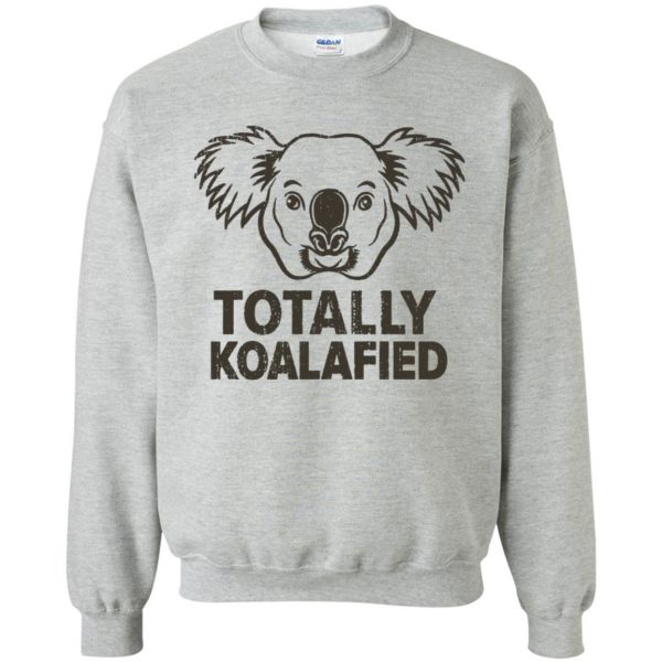 koalafied shirt sweatshirt - sport grey
