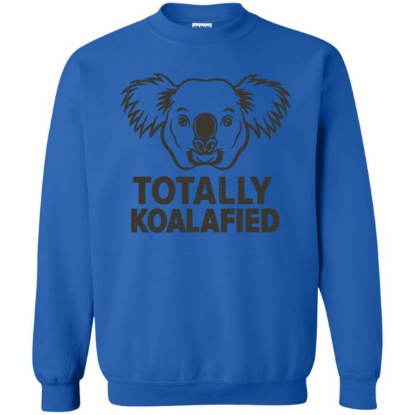 koalafied shirt sweatshirt - royal blue