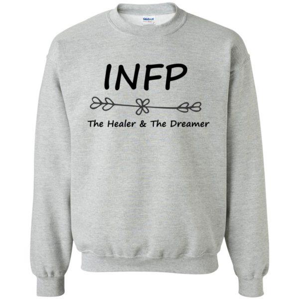 infp t shirt sweatshirt - sport grey