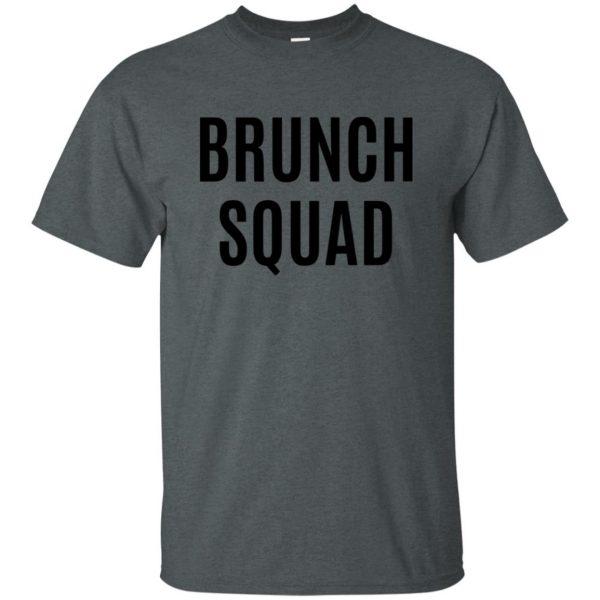 brunch squad t shirt - dark heather