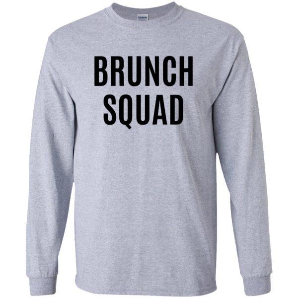 brunch squad long sleeve - sport grey