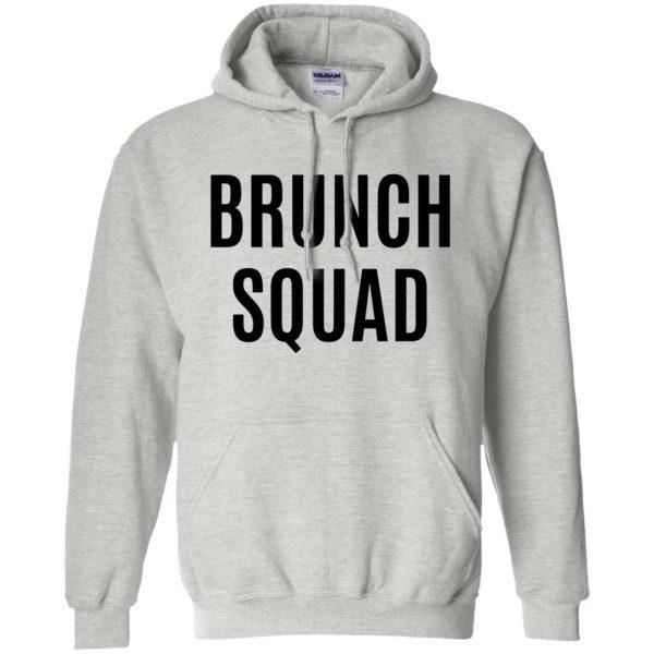 brunch squad hoodie - ash