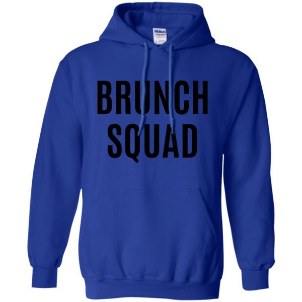 brunch squad hoodie - royal blue