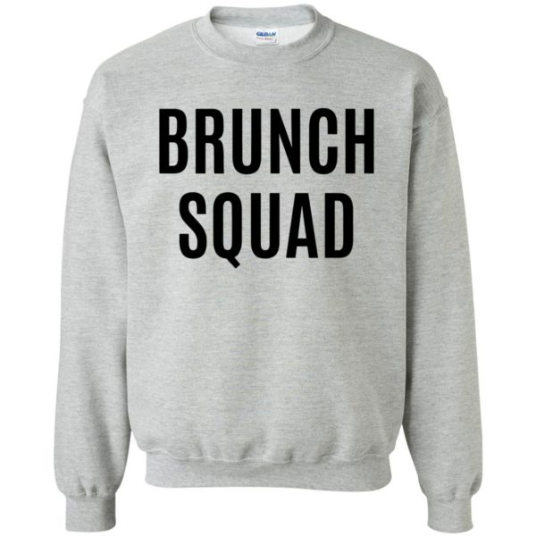 brunch squad sweatshirt - sport grey